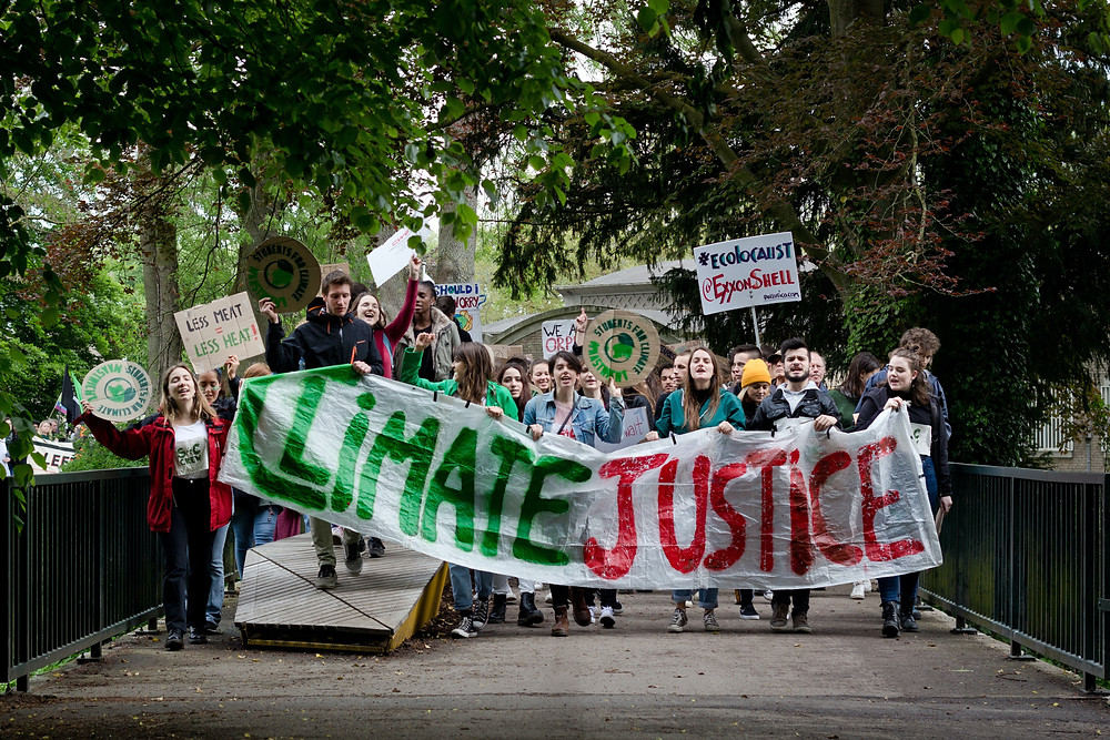 Demonstrators, Climate Justice
