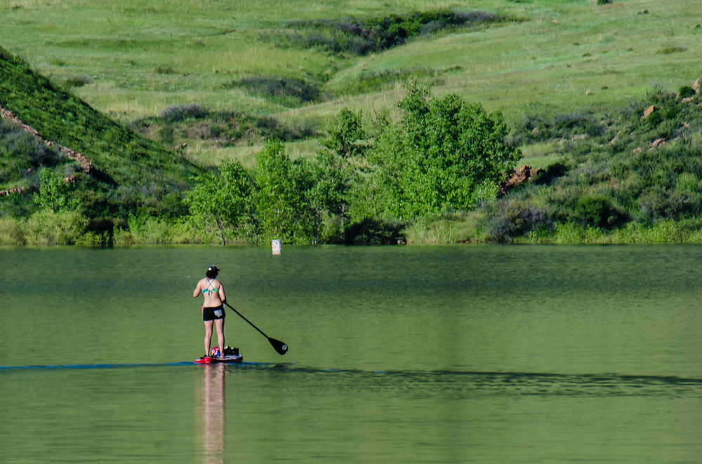 Horsetooth Reservoir Paddle Boarding
