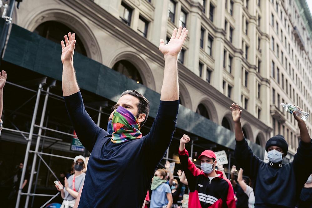 Demonstrators, Black Lives Matter