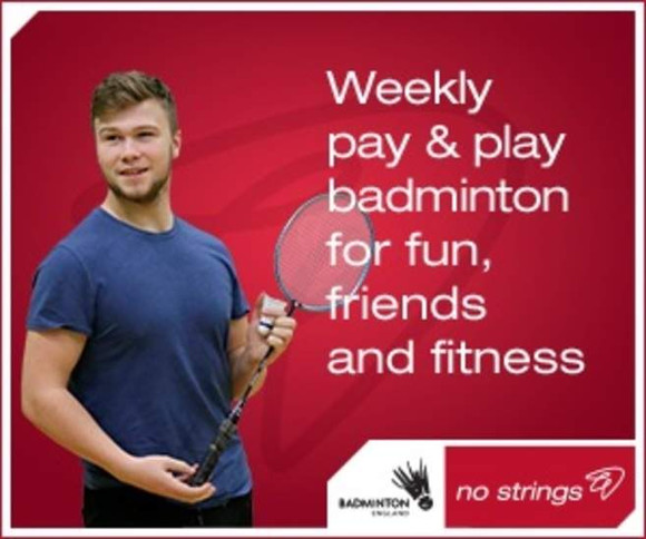 Play Badminton for just £3!