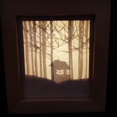 קופסת אור - מנורת לילה  |  Light box - night light