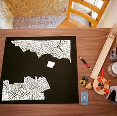 A possible map of Jerusalem | מפה אפשרית של ירושלים
