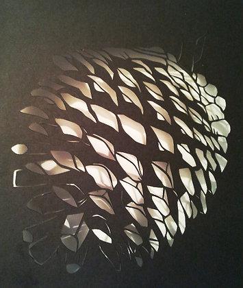 Paper cutting - pine cone pine