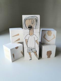 קוביות עץ   |   Wooden blocks