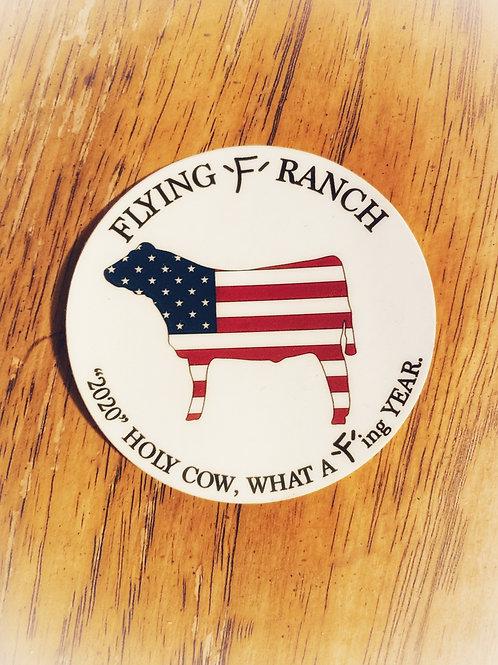 2020 Steer Sticker