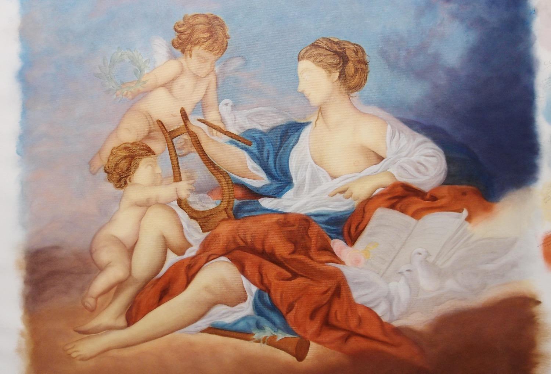 Copie de tableau (F. Boucher)