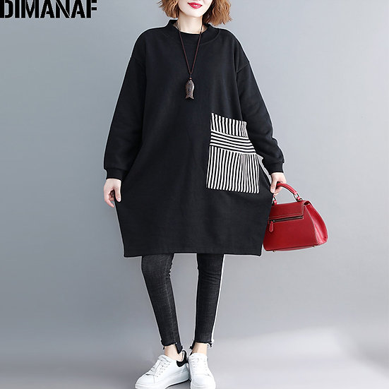 DIMANAF Women Plus Size Hoodies Sweatshirts