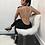 Thumbnail: Stunning Backless Beading Bandage Jumpsuit