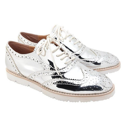 Oxford Shoes (Silver)