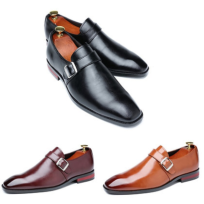 Men Dress Shoes  Buckle Loafers