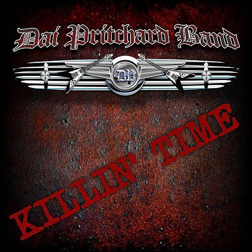 SIGNED CD copy Dai Pritchard Band - 'Killin' Time'