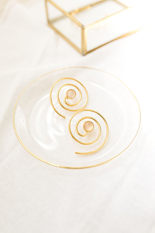 Espiral Cuarzo Rosa