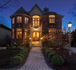 Real Estate Photo Twilight