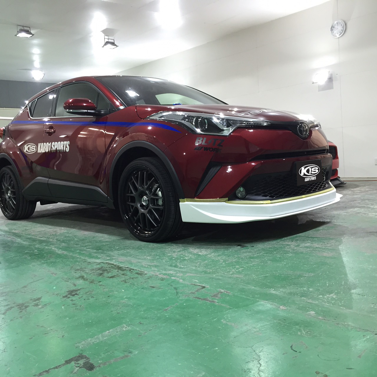 KABO1 SPORTS C-HR FRONT_H