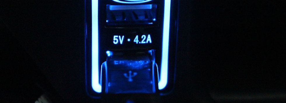 POWER CHARGE 2USB PORT