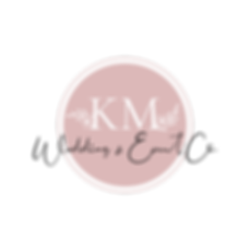 KM Wedding & Event Co Logo