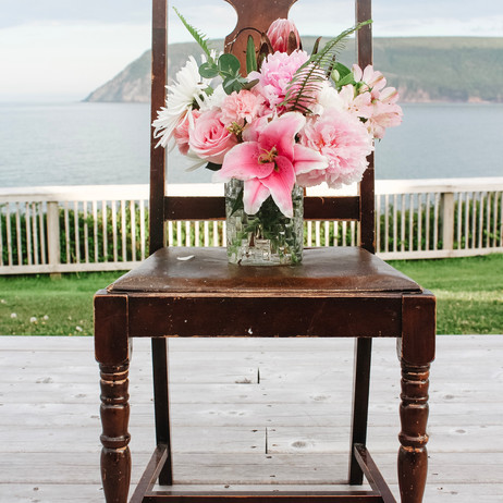 Chair & Flowers