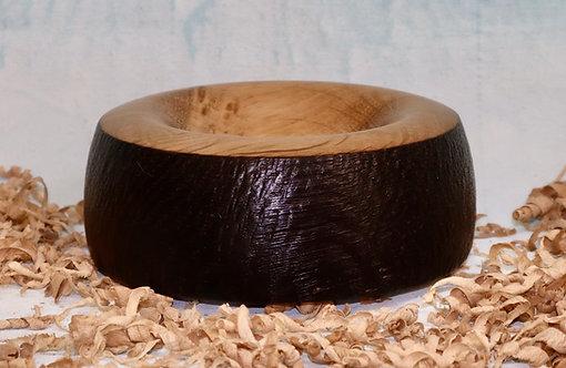 Scorched & Textured Oak Pot