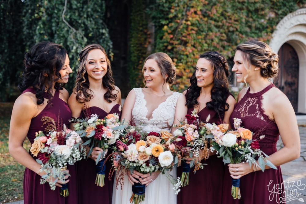 Fall Wedding in Connecticut