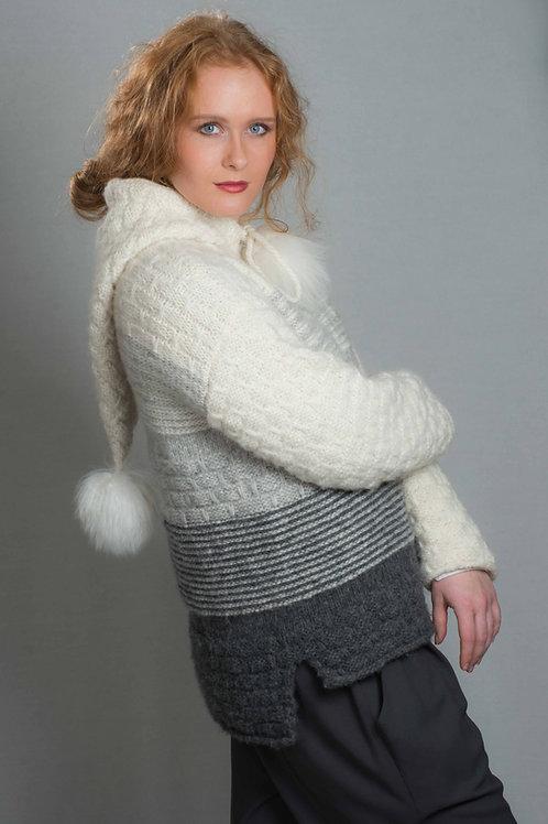 OMEGA - genser med hette og løftemasker