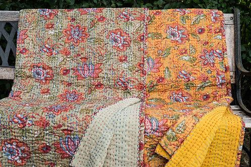Stor quilt Quilt, Fantasi ca 260 x 210 cm