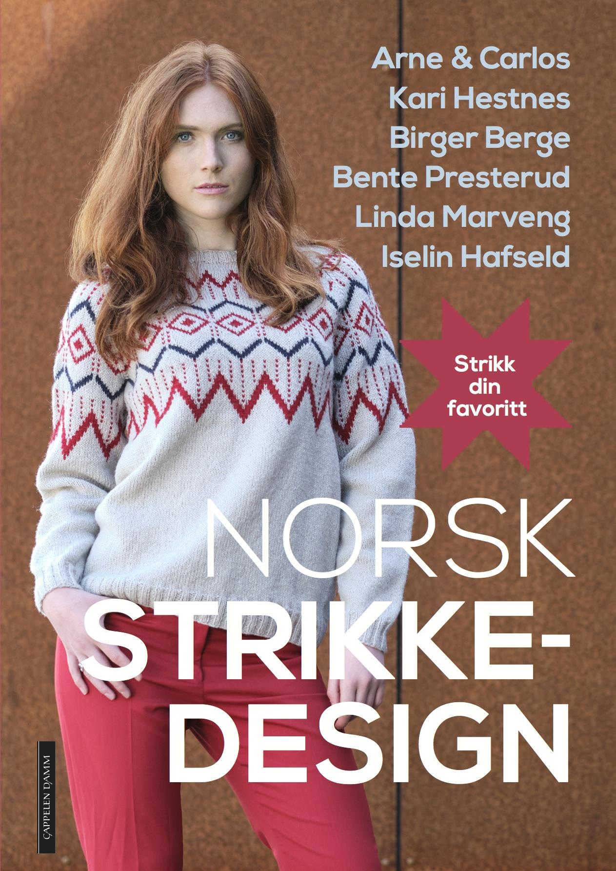 Norsk strikkedesign_forside