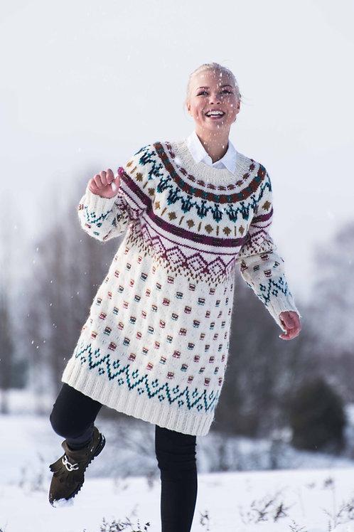 Fridas meksikanske genser - Blåne og Troll