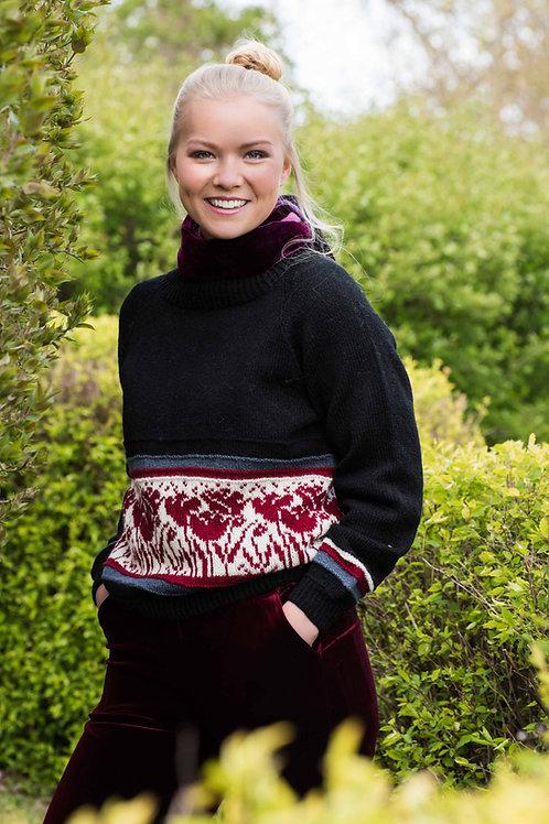 Hillesvåg, TULIPAN genseren - genser med raglanfelling i Ask