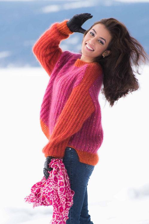 PUSHKAR - genser i falsk patent