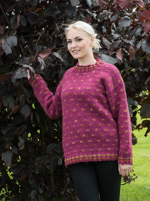 HERA - genser med lus - Blåne