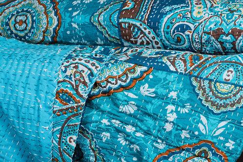 Stor Quilt, Evening Ocean ca 230 x 280 cm