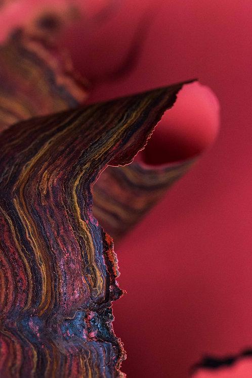Abstrakt II, rødtoner