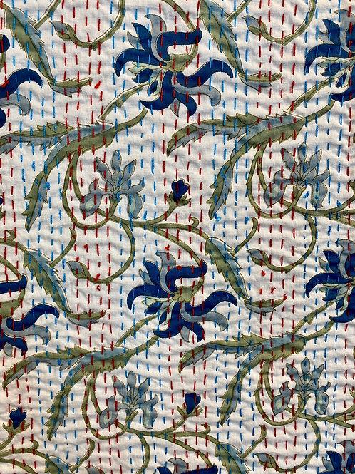 Liten Quilt, Ocean ca 150 x 210 cm