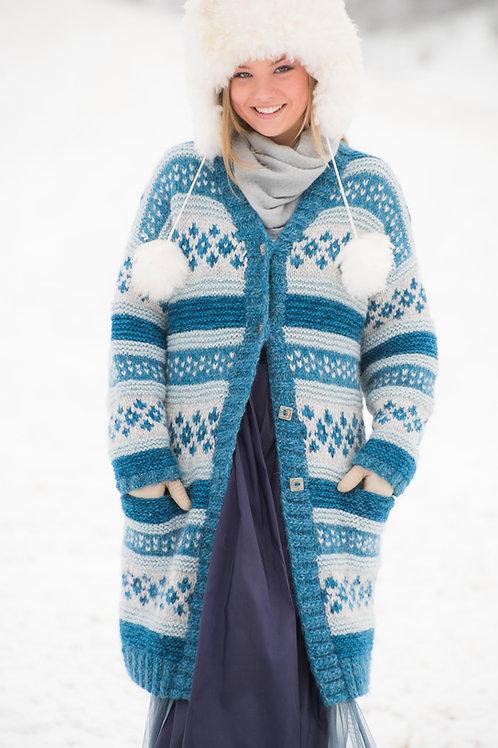 TR 105 Trend ISDRONNING -Lang jakke med lommer