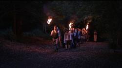 Crowd torches CROP