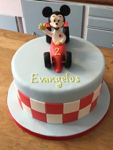 Racing Mickey Cake
