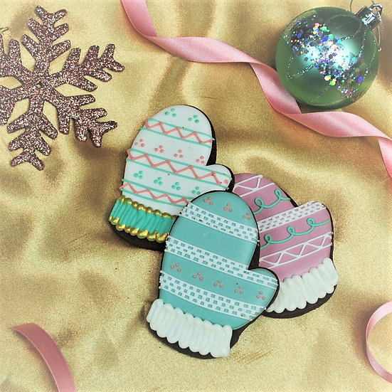 Santa's Glove Cookie