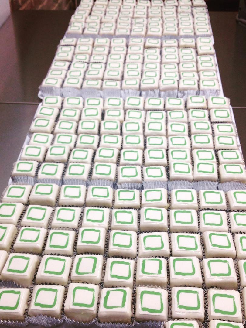 UCB - ...and 200 fondant fancies!