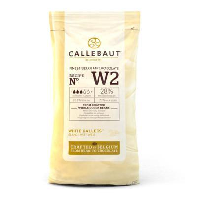 White Chocolate Callets (Callebaut)