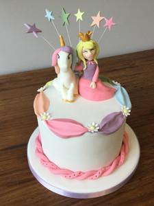 Unicorn & Princess Cake