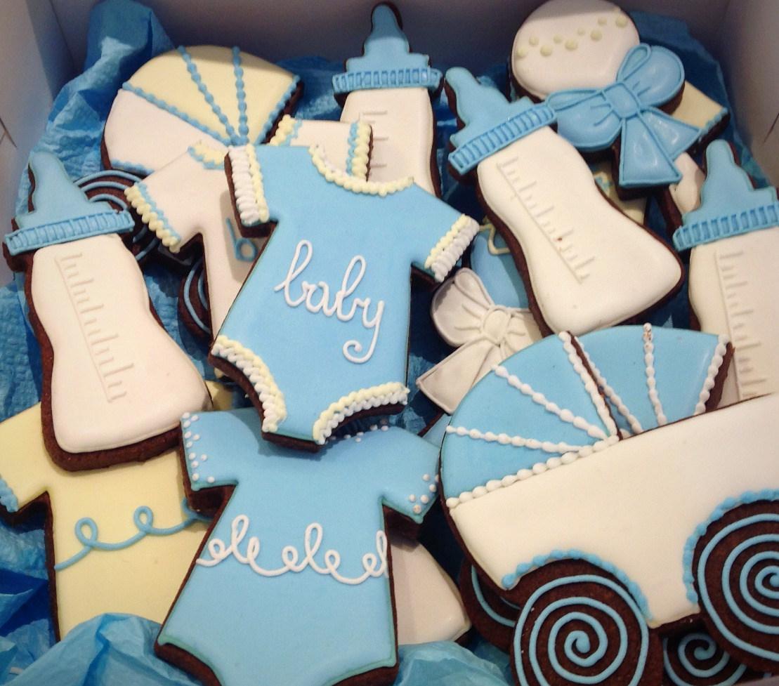 Baby Shower Little Boy Cookies