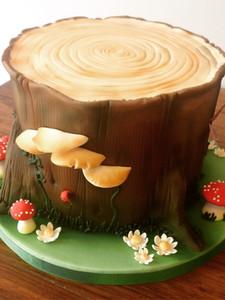 Enchanted Wood Cake