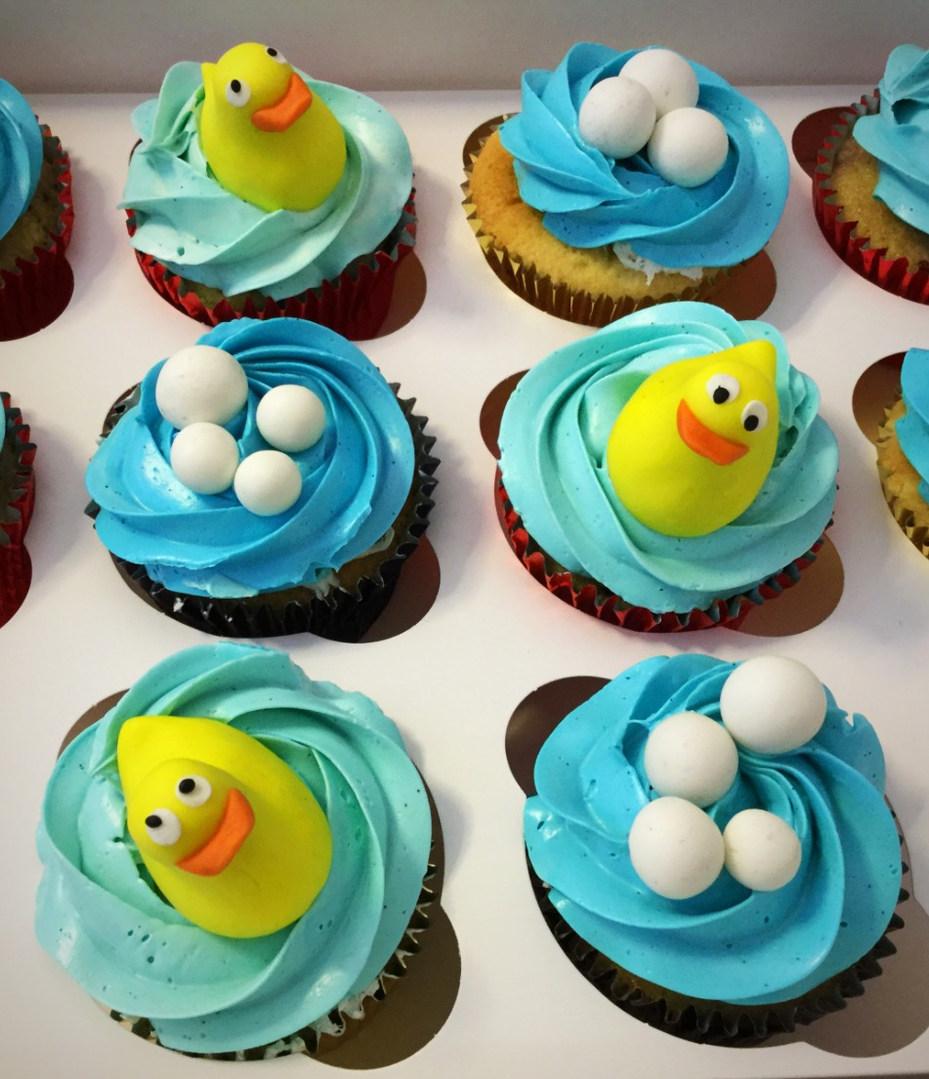 Baby Bath Cupcakes