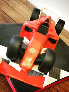 Ferrari F1 Cake