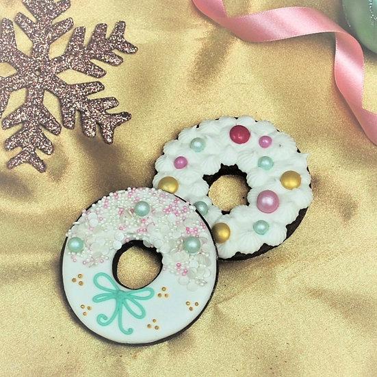 Christmas Wreath Cookie