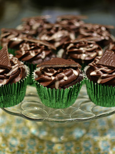 After Eight Cupcake