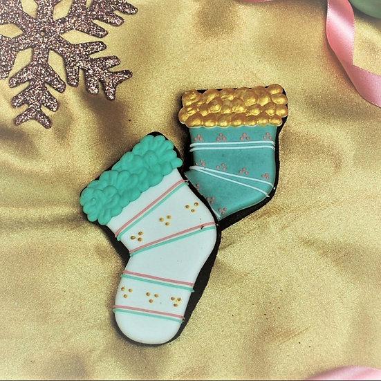 Santa's Bootie Cookie