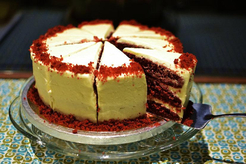 Easter Red Velvet Cake