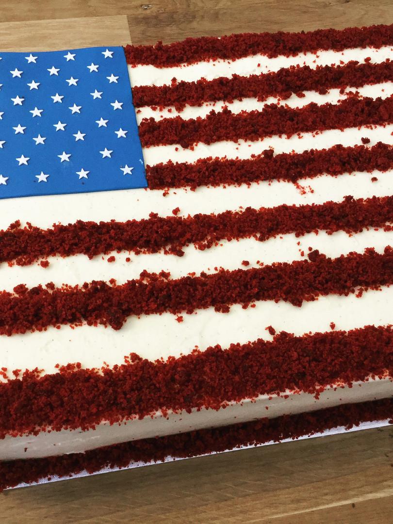 US Embassy - Red Velvet for July 4th