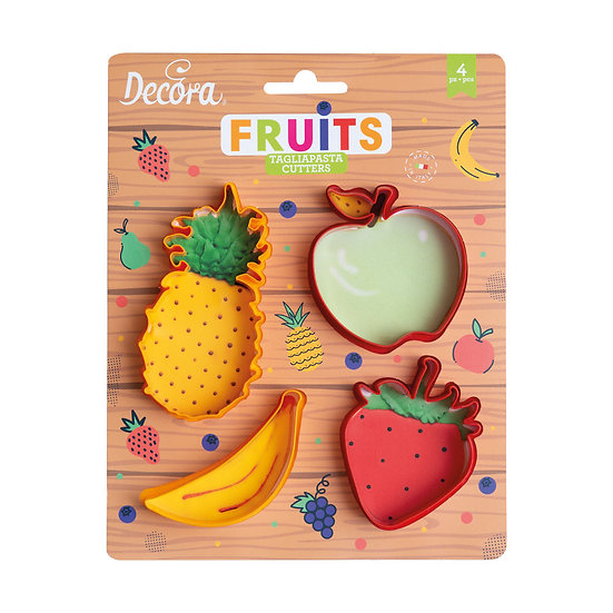 Decora Fruit Cutter Set/4